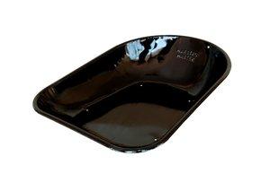 Caçamba Metálica Oval para Carrinho de Mão Master Preta 45 litros - Maestro
