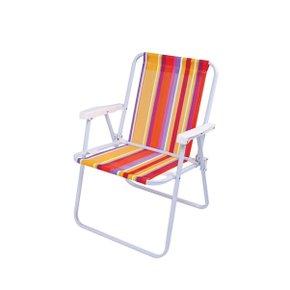 Cadeira Aço Alta Dobrável 90kg Color - Mor