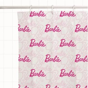 Cortina Barbie para Box Banheiro - Mattel