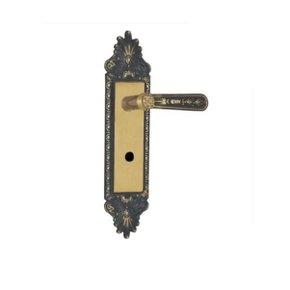 Fechadura Colonial Porta de Banheiro Alavanca - Mgm