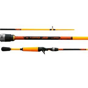 Vara Pesca Carretilha Carbono Topaz 602 Grafite Tubular 1,90m x 2P - Albatroz