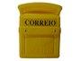 Caixa Correio PVC Amarela - E.W.M.