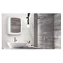 Armário Banheiro Plástico Reversível Branco - Metasul