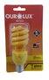 Lâmpada Eletrônica Espiral Amarela 15W - 220v - Ourolux