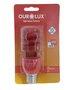 Lâmpada Eletrônica Espiral Vermelha 15W - 220v – Ourolux